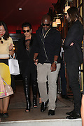 KRIS JENNER AND COREY GABLE RETURN TO GEORGE V Hotel after night out<br /> ©Exclusivepix Media
