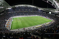 Fotball<br /> Privatlandskamp<br /> Tyskland v Kamerun<br /> 17. november 2004<br /> Foto: Digitalsport<br /> NORWAY ONLY<br /> Fu§ball Zentralstadion Leipzig