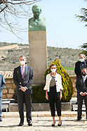 032921 Spanish Royals visit Fuendetodos