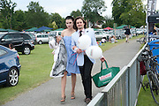KATELINA SOLOUKHINA; ADAM HARPER, Henley Regatta. 2 July 2011. <br /> <br />  , -DO NOT ARCHIVE-© Copyright Photograph by Dafydd Jones. 248 Clapham Rd. London SW9 0PZ. Tel 0207 820 0771. www.dafjones.com.