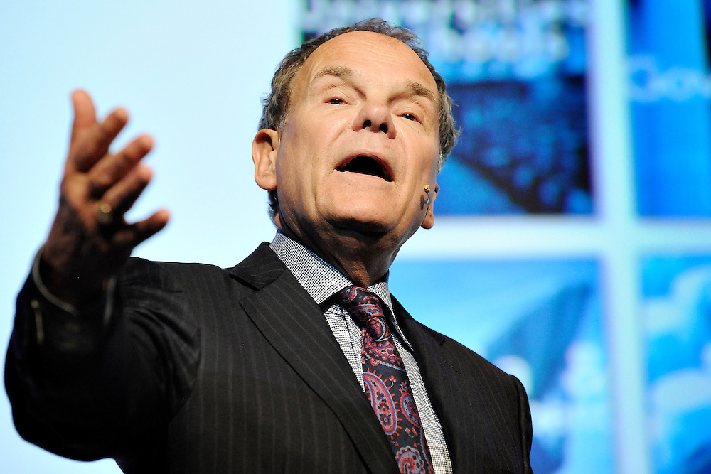 20111206 - Belgium , Brussels  - Innovation convention 2011 - Macrowikinomics : Innovation in the age of networked intelligence - Don Tapscott , Chairman , Moxie Insight © European Union / Scorpix