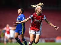 Football - 2021 / 2022 Women's Super League - Arsenal vs Chelsea - Emirates Stadium - Sunday 5th September 2021<br /> <br /> Arsenal Women's Beth Mead celebrates scoring her side's second goal.<br /> <br /> COLORSPORT/Ashley Western