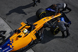February 21, 2019 - Barcelona Barcelona, Espagne Spain - NORRIS Lando (gbr), McLaren Renault F1 MCL34, pitlane during Formula 1 winter tests from February 18 to 21, 2019 at Barcelona, Spain - Photo  Motorsports: FIA Formula One World Championship 2019, Test in Barcelona, (Credit Image: © Hoch Zwei via ZUMA Wire)