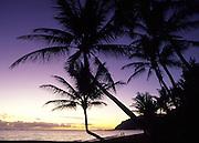 Sunrise, Punaluu, Oahu, Hawaii<br />