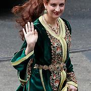 NLD/Amsterdam/20130430 - Inhuldiging Koning Willem - Alexander, Prinses Lalla Salma van Marokko