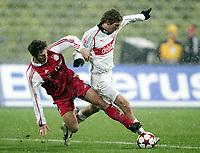Fotball<br /> Tyskland 2004/05<br /> DFB-Pokal<br /> Bayern München v Vfb Stuttgart<br /> 10. november 2004<br /> Foto: Digitalsport<br /> NORWAY ONLY<br /> Torsten Frings, Alexander Hleb VfB