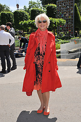 DAME HELEN MIRREN at the 2011 RHS Chelsea Flower Show VIP & Press Day at the Royal Hospital Chelsea, London, on 23rd May 2011.