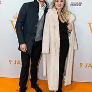 NLD/Katwijk/20191030 - 9 jaar Soldaat van Oranje, Carola Kirschbaum (R) en .......