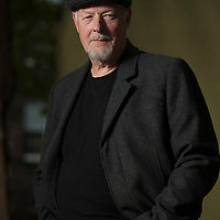 John Harvey at the Edinburgh International Book Festival 2014. 19th August 2014<br /> <br /> Picture by Russell G Sneddon/Writer Pictures
