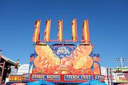 Orange County Fair Food Signage