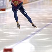 NLD/Heerenveen/20060122 - WK Sprint 2006, 2de 500 meter heren, Shani Davis
