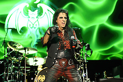 June 20, 2018 - London, England, United Kingdom - 6/20/18.Johnny Depp, Alice Cooper and Joe Perry of ''The Hollywood Vampires at SSE Arena in London, England. (Credit Image: © Starmax/Newscom via ZUMA Press)