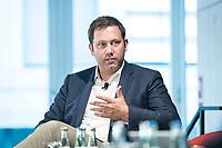 13 SEP 2018, BERLIN/GERMANY:<br /> Lars Klingbeil, MdB, SPD Generalsekretaer, Jahreskonferenz SPD Wirtschaftsforum, Maritim proArte Hotel<br /> IMAGE: 20180913-02-213