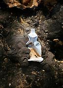 Rifiuti di plastica in riva al mare, zona costiera Adriatica meridionale. Bari 8 Febbraio 2020. Christian Mantuano / OneShot