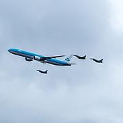 NLD/Amsterdam/20190314  - Koning bij viering 100 jaar Luchtvaart  in Nederland,