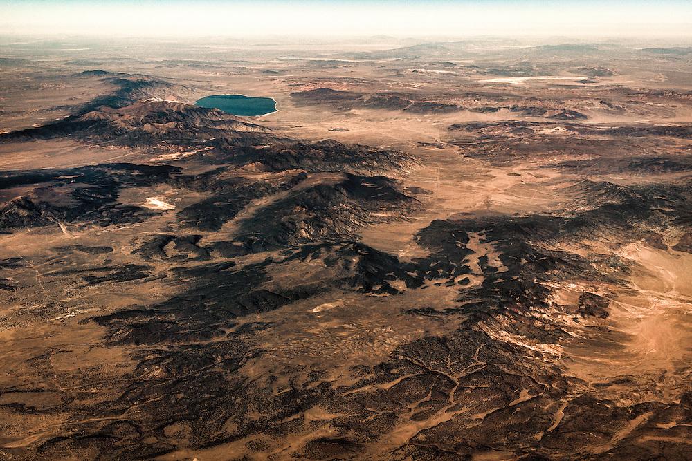 Somewhere over the Southwestern United States.
