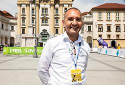 Branko Filip of KK Adria Mobil during 1st Stage of 26th Tour of Slovenia 2019 cycling race between Ljubljana and Rogaska Slatina (171 km), on June 19, 2019 in  Slovenia. Photo by Vid Ponikvar / Sportida