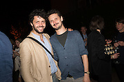 CONRAD SHAWCROSS; DAVID BIRKIN, Sarah Lucas- Scream Daddio party hosted by Sadie Coles HQ and Gladstone Gallery at Palazzo Zeno. Venice. 6 May 2015.