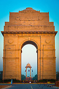 "The India Gate is the national monument of India. Situated in the heart of New Delhi, it was designed by Sir Edwin Lutyens.<br /> It commemorates the 70,000 Indian soldiers who lost their lives fighting for the British Army during the World War I. The memorial bears the names of more than 13,516 British and Indian soldiers killed in the Northwestern Frontier in the Afghan war of 1919.<br /> The foundation stone of India Gate was laid by His Royal Highness, the Duke of Connaught in 1921. The monument was dedicated to the nation 10 years later by the then Viceroy, Lord Irwin.<br /> Originally, a statue of George V, Emperor of India stood under the now vacant canopy in front of the India Gate, but it was removed to Coronation Park together with a number of other British Raj-era statues. Following India's independence, the India Gate became the site of the Indian Armed Forces's Tomb of the Unknown Soldier, known as Amar Jawan Jyoti (""the flame of the immortal soldier"")."