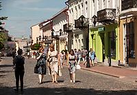 10.07.2017 Grodno Bialorus N/z deptak ulica Sowiecka fot Michal Kosc / AGENCJA WSCHOD