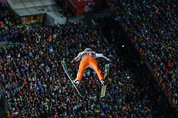 29.12.2015, Schattenbergschanze, Oberstdorf, GER, FIS Weltcup Ski Sprung, Vierschanzentournee, Bewerb, im Bild Domen Prevc (SLO) // Domen Prevc of Slovenia during his Competition Jump of Four Hills Tournament of FIS Ski Jumping World Cup at the Schattenbergschanze, Oberstdorf, Germany on 2015/12/29. EXPA Pictures © 2016, PhotoCredit: EXPA/ Peter Rinderer