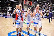 DESCRIZIONE : Campionato 2014/15 Dinamo Banco di Sardegna Sassari - Openjobmetis Varese<br /> GIOCATORE : Brian Sacchetti Massimo Chessa Giacomo Devecchi<br /> CATEGORIA : Ritratto Delusione<br /> SQUADRA : Dinamo Banco di Sardegna Sassari<br /> EVENTO : LegaBasket Serie A Beko 2014/2015<br /> GARA : Dinamo Banco di Sardegna Sassari - Openjobmetis Varese<br /> DATA : 19/04/2015<br /> SPORT : Pallacanestro <br /> AUTORE : Agenzia Ciamillo-Castoria/L.Canu<br /> Predefinita :