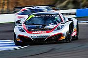 2012 FIA GT1 World Championship.Donington Park, Leicestershire, UK.27th - 30th September 2012.Alvaro Parente / Gregoire Demoustier, McLaren MP4-12C..World Copyright: Jamey Price/LAT Photographic.ref: Digital Image Donington_FIAGT1-17545