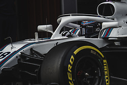 March 1, 2018 - Barcelona, Catalonia, Spain - LANCE STROLL (CAN) in his Williams FW41 at the pit stop at day four of Formula One testing at Circuit de Catalunya. (Credit Image: © Matthias Oesterle via ZUMA Wire)