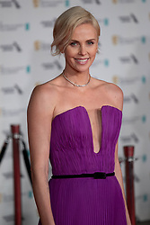February 2, 2020, London, England, United Kingdom: Charlize Theron attends the EE British Academy Film Awards 2020 After Party at The Grosvenor House Hotel on February 02, 2020 in London, England. (Credit Image: © Robin Pope/NurPhoto via ZUMA Press)