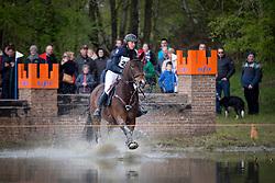 Arnauts Katrien, (BEL), Donna Carrera<br /> Nationale Finale AVEVE Eventing Cup Paarden <br /> Minderhout 2016<br /> © Hippo Foto - Dirk Caremans<br /> 24/04/16