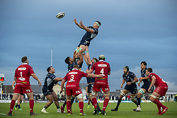 September 22, 2018 - Galway, Ireland - Robin Copeland of Connacht during the Guinness PRO14 match between Connacht Rugby and Scarlets at the Sportsground in Galway, Ireland on September 22, 2018  (Credit Image: © Andrew Surma/NurPhoto/ZUMA Press)