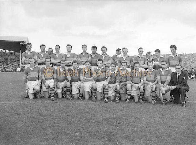 Kerry senior football team at All Ireland gaelic football final in Croke Park on 25th September 1955.