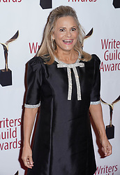 Amy Sedaris arrivals at the Writers Guild Awards 2019 in New York City, USA on February 17, 2019.