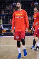 Spain's Juan Carlos Navarro during friendly match for the preparation for Eurobasket 2017 between Spain and Venezuela at Madrid Arena in Madrid, Spain August 15, 2017. (ALTERPHOTOS/Borja B.Hojas)