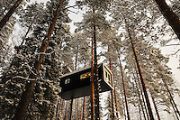 Photos from TreeHotel, Harads, Arctic Sweden