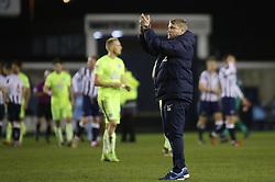 Peterborough United Manager Grant McCann acknowledges the traveling support at full-time - Mandatory by-line: Joe Dent/JMP - 28/02/2017 - FOOTBALL - The Den - London, England - Millwall v Peterborough United - Sky Bet League One