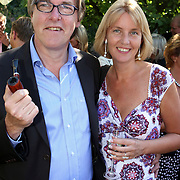 NLD/Laren/20070829 - Huwelijk Willibrord Frequin en Susanne Rastin, Bert van der Veer en partner Erna