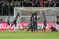 Goal Metz - Modibo MAIGA  - 04.04.2015 - Metz / Toulouse - 31eme journee de Ligue 1 <br />
