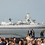 NLD/Terneuzen/20190831 - Start viering 75 jaar vrijheid, Fregat F931 Louise-Marie