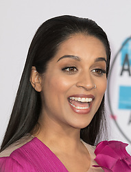 November 19, 2017 - Los Angeles, California, U.S - Lilly Singh on the Red Carpet of the 2017 American Music Awards held on Sunday, November 19, 2017 at the Microsoft Theatre in Los Angeles, California. (Credit Image: © Prensa Internacional via ZUMA Wire)