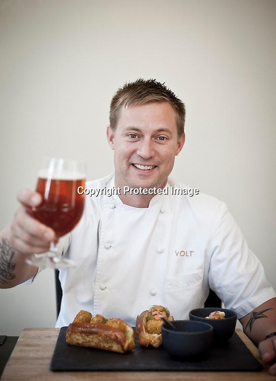 Chef Bryan Voltaggio, Frederick, Md., 2012.