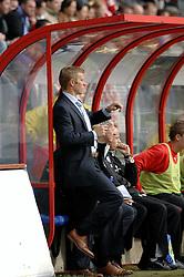 22-10-2006 VOETBAL: UTRECHT - DEN HAAG: UTRECHT<br /> FC Utrecht wint in eigenhuis met 2-0 van FC Den Haag /  Foeke Booy<br /> ©2006-WWW.FOTOHOOGENDOORN.NL