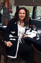 MRS BOB MANOUKIAN at a lunch hosted by Fawaz Gruosi to celebrate the launch of De Grisogono's latest watch 'Be Eight' held at Nobu, 19 Old Park Lane, London W1 on 30th November 2006.<br /><br />NON EXCLUSIVE - WORLD RIGHTS
