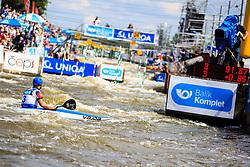 Prskavec Jiri (CZE) competes in Finals during Day 2 of 2018 ECA Canoe Slalom European Championships, on June 2nd, 2018 in Troja , Prague, Czech Republic. Photo by Grega Valancic / Sportida