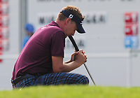 Golf - 2017 BMW PGA Championship - West Course, Wentworth<br /> <br /> Ian poulter ponders a missed putt during the first round.<br /> <br /> COLORSPORT/ANDREW COWIE