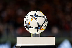 The UEFA Champions League match ball - Mandatory by-line: Matt McNulty/JMP - 02/05/2018 - FOOTBALL - Stadio Olimpico - Rome,  - Roma v Liverpool - UEFA Champions League Semi Final, 2nd Leg