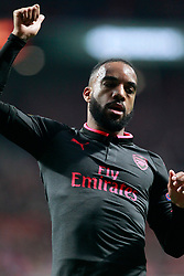 Arsenal FC's Alexandre Lacazette during Europa League semi-final, second leg in Madrid, Spain, May 3, 2018. Atletico won 1-0 and reaches the final. Photo by Acero/Alterphotos/ABACAPRESS.COM