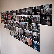 Editing and sequencing a longterm project on a wall with 5x7 inch working prints. The shooting is the pleasure and the editing the pain part, at least for me. #lysa #praha #prague #czechrepublic #photography #images #editing #pictures #documentary #images #process