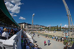 Overview arena<br /> Furusiyya FEI Nations Cup Jumping Final <br /> CSIO Barcelona 2013<br /> © Dirk Caremans