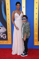 Jennifer Hudson, David Daniel Otunga Jr. bei der Premiere von Sing in Los Angeles / 031216